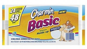 charmin basics toilet paper staples deal