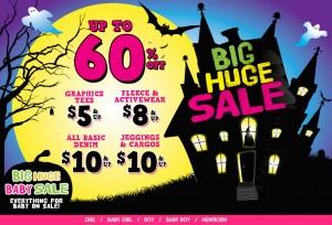 childrens place big huge sale