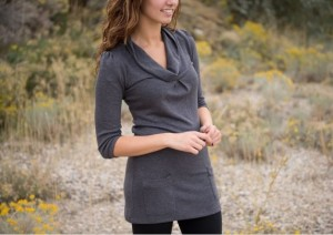 Cowl Neck Tunic Sweater with Pockets for $7.99! – Utah Sweet Savings