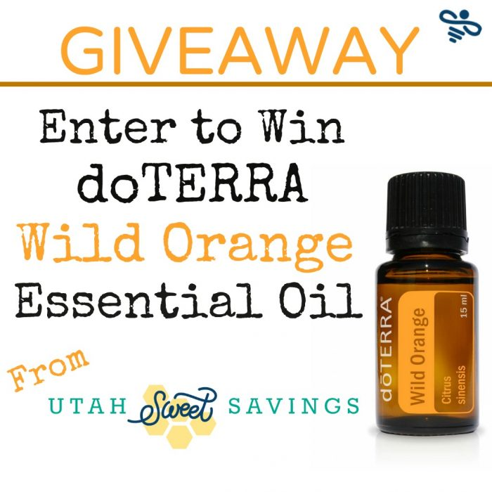 doTERRA Wild Orange Giveaway