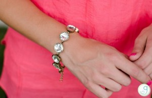 dolled up crystal bracelet