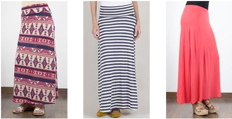 Maxi Skirts Sale - Redskirtz