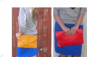 fall leatherett clutch purse