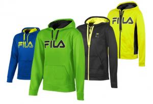 fila mens performance hoodies