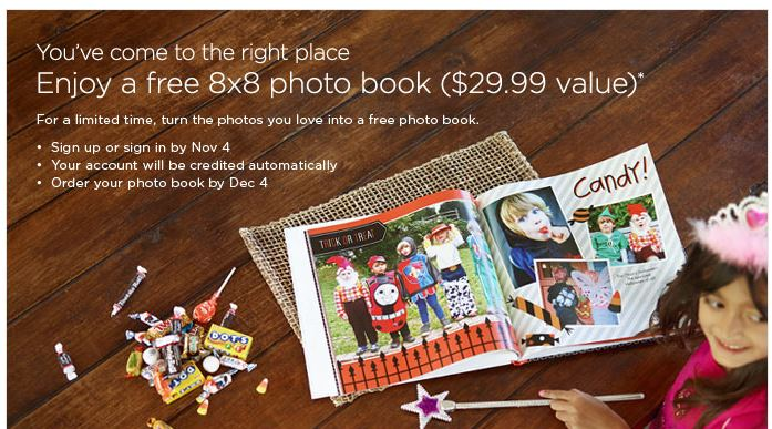 free shutterfly 8x8 photo book