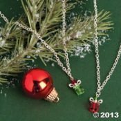 holiday gift necklace set