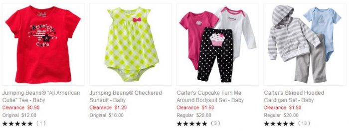 Kohls Baby Clothes Stunning HOT Kohl's 60% Off Clearance Sale Kid's Clothes Prices Starting At