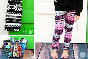little girl patterned leggings