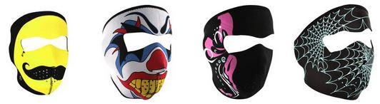 neoprene full face masks