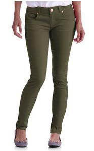 no boundaries juniors colored skinny jeans