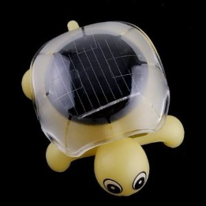 solar powered turtle
