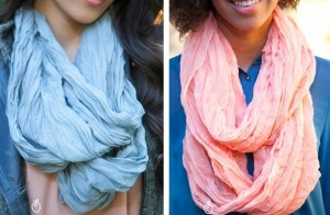 solid infinity scarves