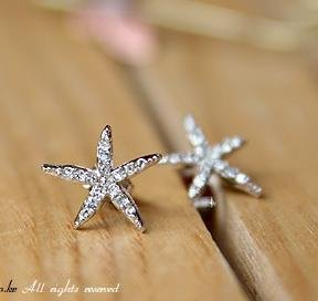 starrfish earrings