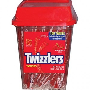 strawberry twizzlers 300x300 Strawberry Twizzlers, 105 Piece Tub for $5.49 Shipped! *HALLOWEEN*