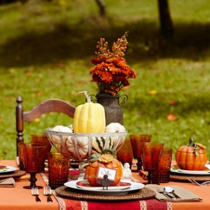 thanksgiving zulily table decorations