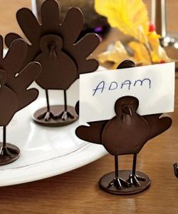 turkey place holders