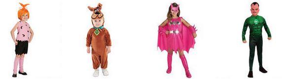 wb shop kids costumes green lantern batgirl scooby-doo pebbles