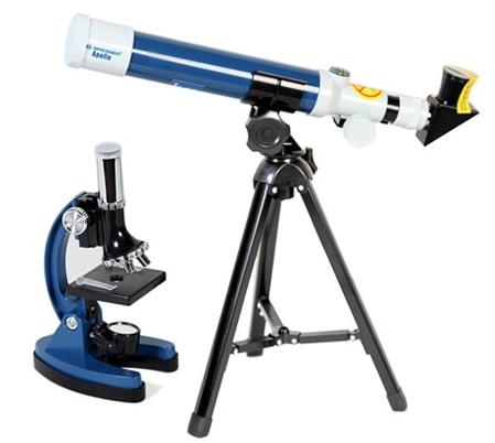 Bresser Junior Apollo Microscope & Telescope Set with Case ...