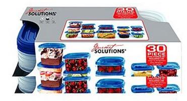 Essential Home 30-Piece Food Storage Set