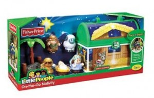Fisher-Price Little People On-the-Go Nativity