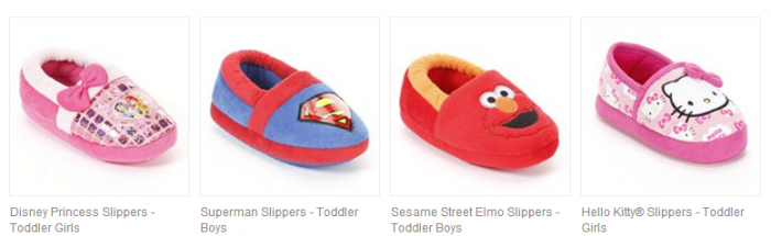 Kohl's has these Toddler Character Slippers for only $5.59 shipped