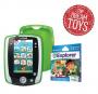 LeapFrog LeapPad2 Power Green Tablet, Disney Jake & the Never Land Pirates Game & Gel Skin Gift Set