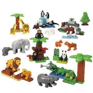 Lego Education Duplo Wild Animals Set DUPLO Wild Animals Set $78.53 (Reg $102.95)