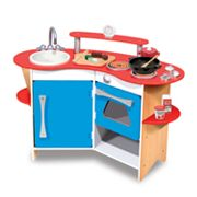 Melissa Doug Cooks Corner Wooden Kitchen Playset Kohls Promo Codes List! Hot Toy Deals! Melissa & Doug Kitchen for $71!