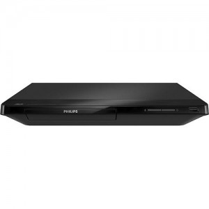 Philips - Smart Wi-Fi Built-In Blu-ray Player