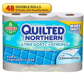 Quilted Northern Ultra Soft and Strong Bath Tissue Toilet Paper *HOT* Quilted Northern Ultra Soft and Strong Bath Tissue for $17.15 $20.74 (18¢ 22¢/regular roll)!