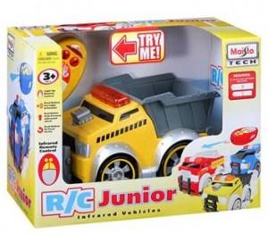 RC Junior Remote-Controlled Dump Truck