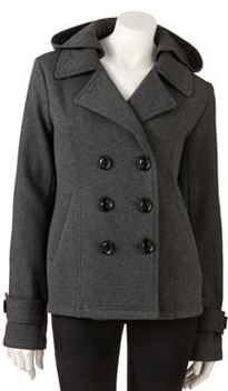 Hooded Pea Coats For Women sUhZue