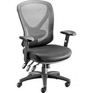 Staples Carder™ Mesh Task Chair, Black