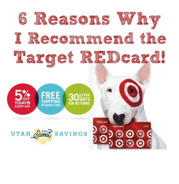 Target REDcard Utah Sweet Savings 6 Reasons Why I Recommend the Target REDcard Debit Card!