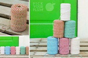 bakers twine christmas colors