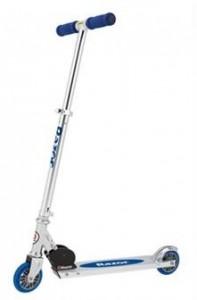 blue razor scooter