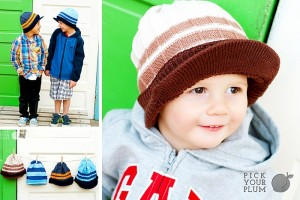 boys beanie hats with brims