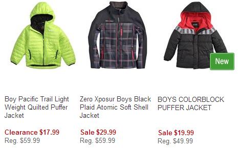 boys shopko coats