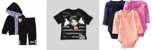 carters disney baby hello kitty clothing