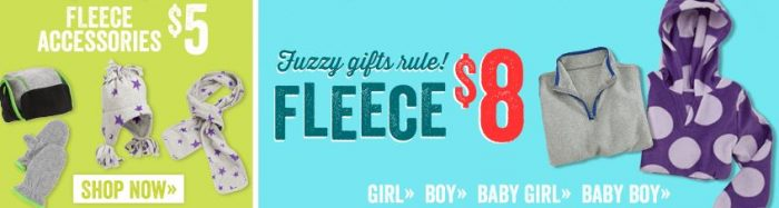 crazy 8 fleece