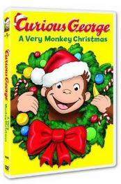 curious george a very monkey christmas Curious George: A Very Monkey Christmas on DVD for $4.49 (Regularly $14.98)!