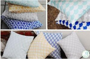 designer pillow covers
