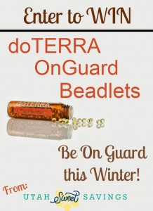 doTERRA OnGuard Beadlets Giveaway