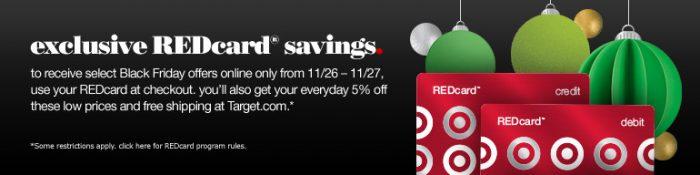 exclusive target redcard savings