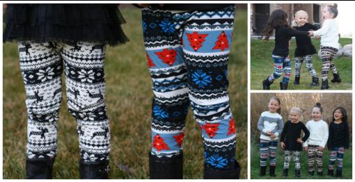 girls winter leggings