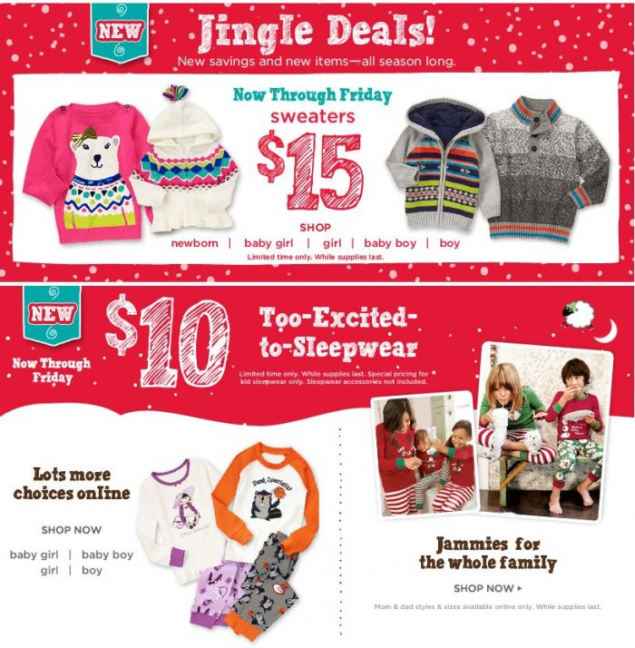 gymboree black friday