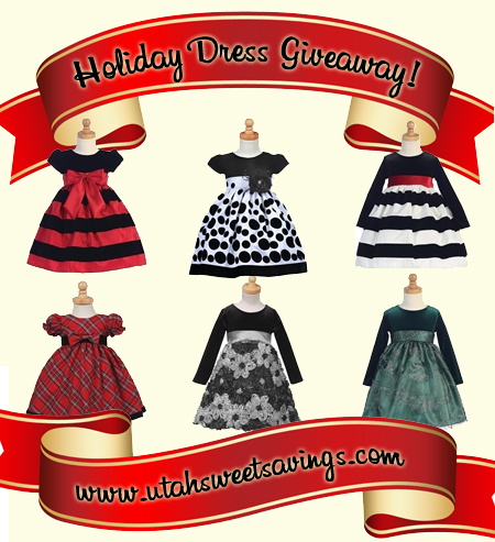 holiday dress giveaway GIVEAWAY! Holiday Dress from Blessings & Baptisms! Plus 20% off Exclusive Coupon!