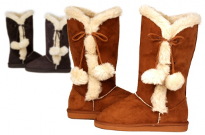 hounds microfiber side tie boots