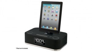 ipod speaker system clock