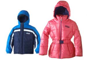 kids fila coats